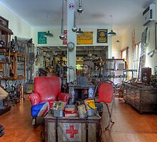 Antiques Shop • Bangalow • New South Wales by William Bullimore