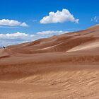 Dune Panorama - Great Sand Dunes, Colorado by Alex Zuccarelli