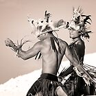Mwokilese Dancers - Pohnpei, Micronesia by Alex Zuccarelli