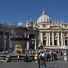 The Vatican by Alfredo Estrella
