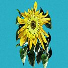 Cheery Sunflowers on your iPhone by DAdeSimone