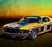 John Bowe Mustang 4 by Stuart Row