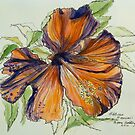 2014 Calendar of pen and washes by artist Elizabeth Moore GoldingⒸ by Elizabeth Moore Golding