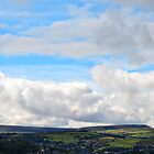Overlooking Huddersfield by TIM HOGGARTH