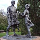 Highland Division War memorial by biddumy
