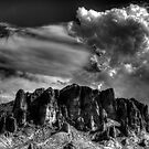 Superstition Mountains by DHParsons