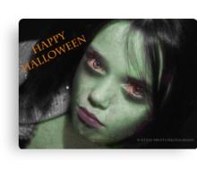 Happy Halloween ! Canvas Print