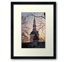 Winter in Tallinn Framed Print