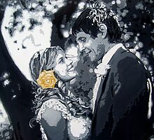 Wedding commission by db artstudio by Deborah Boyle