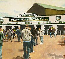Plymouth Argyle by BenSimsArt