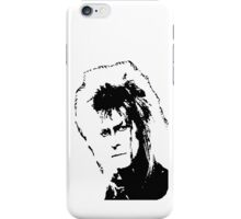 Jareth's Face - Labyrinth iPhone Case/Skin