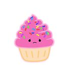 Strawberry Cupcake by mrsFang
