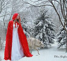 Little red riding hood by Ellen  Griffin
