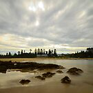 Rocks At Toowoon - Toowoon Bay Beach by Jacob Jackson