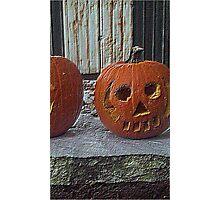 Petrified Pumpkin Photographic Print
