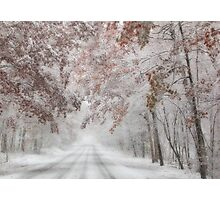 Autumn Wonderland Photographic Print