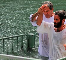 Baptised in the Jordan river #20 by Moshe Cohen