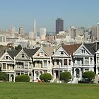 The Painted Ladies - San Francisco by AH64D