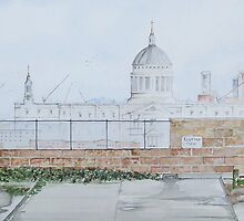 """London rooftops..St. Pauls"" by Alan Harris"