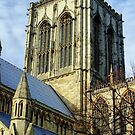 York Minster England by Tom Curtis