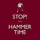 STOP! (Keep Calm)...Hammer Time (iPhone) by Malc Foy
