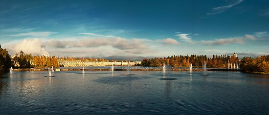 Oulu panorama by Dominika Aniola
