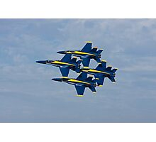 Blue Angels - Diamond Formation Photographic Print