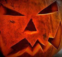Evil pumpkin by Roxy J