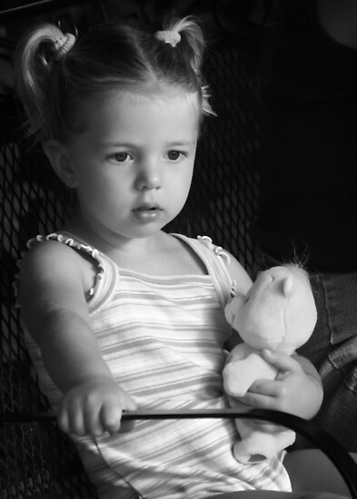 Grand Daughter in Thought by homendn