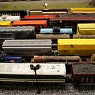 Nostalgic Toy Trains by Laurie Perry