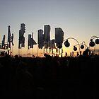 Glastonbury sunset by Wintermute69