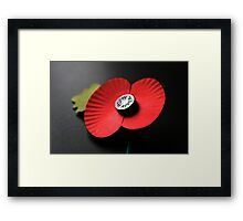 Poppy Appeal Framed Print