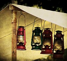 Lanterns in the Tent by Widcat
