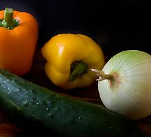 Veggies by Sue  Cullumber