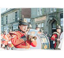 Duke of Lancaster's Regiment Freedom Parade - Ormskirk Poster