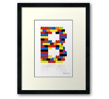 """""""B"""" Framed Print"""