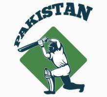 cricket player batsman batting Pakistan by patrimonio