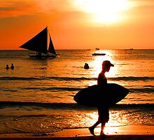 Boracay Sunset by Harry Roma