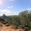 Glass House Mountains by Jessica Fittock