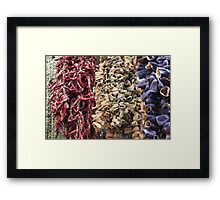 Spicy Istanbul Framed Print