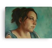 Anja, Daydreaming as Usual Canvas Print