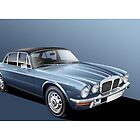 Daimler Double Six Vanden Plas S2 Illustration by Autographics