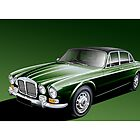 Daimler Double Six Vanden Plas S1 Illustration by Autographics