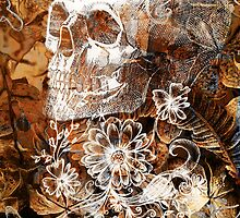 Skull and Flowers 4 by lab80