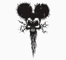 Hammer Mouse of Horror for dark tees Kids Clothes
