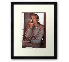 Burmese Woman  Framed Print