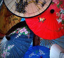 Layers of Parasols by Rodney Williams