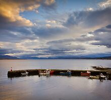 Small Boats, Big Skye by Philip Kearney