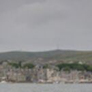 Lerwick harbour and The Tall ships by Terry Mooney