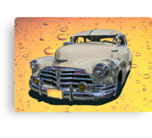 Circa 1948 Chevy Coupe Classic Canvas Print